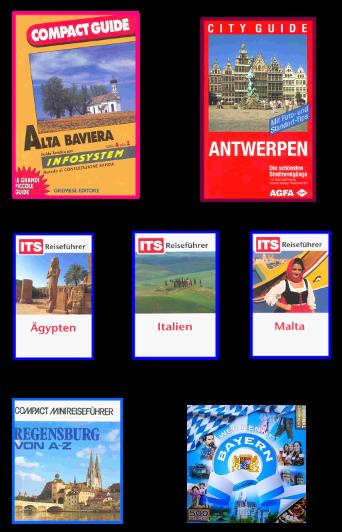 guide books Italy Malta Egypt Regensburg travel quiz - (co)writer Ilona Brenner